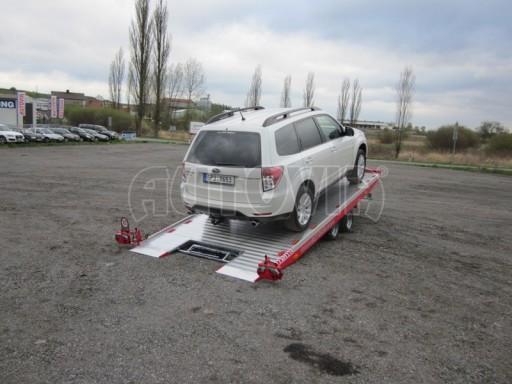 Přepravník automobilů s celohliníkovou ložnou plochou IM 2,7T 5,01x2,09 č.9
