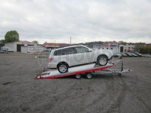 Přepravník automobilů s celohliníkovou ložnou plochou IM 2,7T 5,01x2,09 č.10