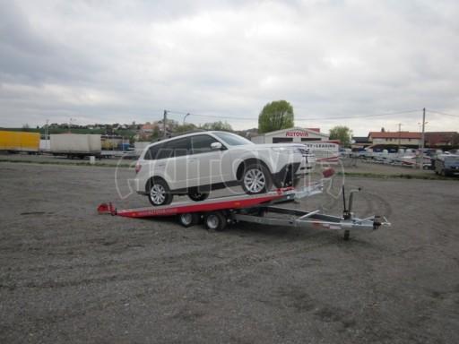 Přepravník automobilů s celohliníkovou ložnou plochou IM 2,7T 5,01x2,09 č.11
