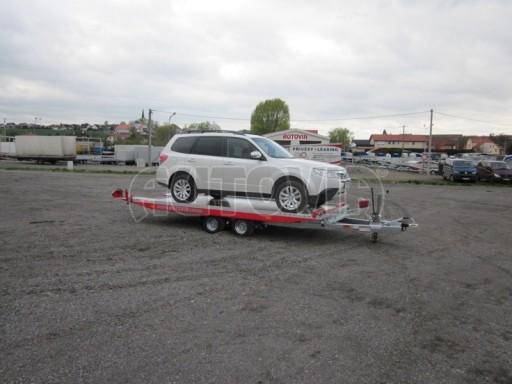Přepravník automobilů s celohliníkovou ložnou plochou IM 2,7T 5,01x2,09 č.12