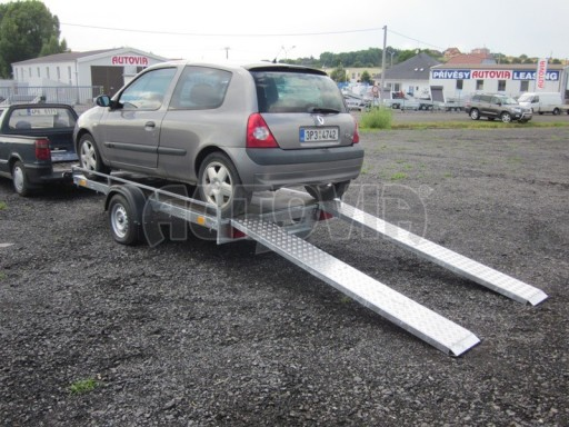 Jednoosý nebrzděný nákladní přívěs AMS 750kg 3,02x1,60 - plato** č.2