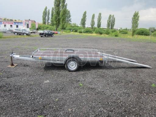 Jednoosý nebrzděný nákladní přívěs AMS 750kg 3,02x1,60 - plato** č.4
