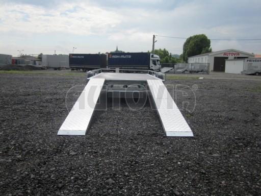 Jednoosý nebrzděný nákladní přívěs AMS 750kg 3,02x1,60 - plato** č.5
