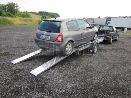 Jednoosý nebrzděný nákladní přívěs AMS 750kg 3,02x1,60 - plato** č.10