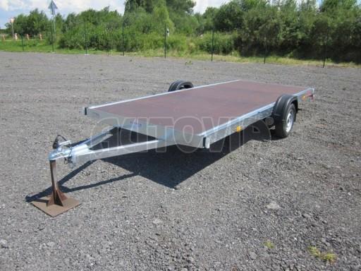 Nebrzděné univerzální jednoosé plato BGS 750kg N1 4,50x1,84** č.2
