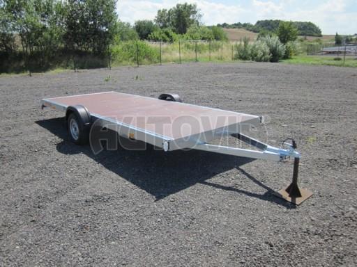Nebrzděné univerzální jednoosé plato BGS 750kg N1 4,50x1,84** č.7