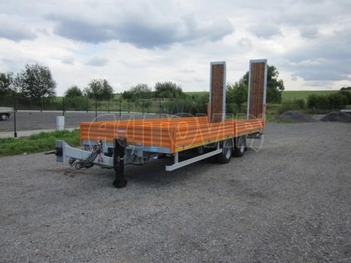 Vzduchem brzděný tandemový přepravník AVG 18T 7,70x2,48/0,40 č.1