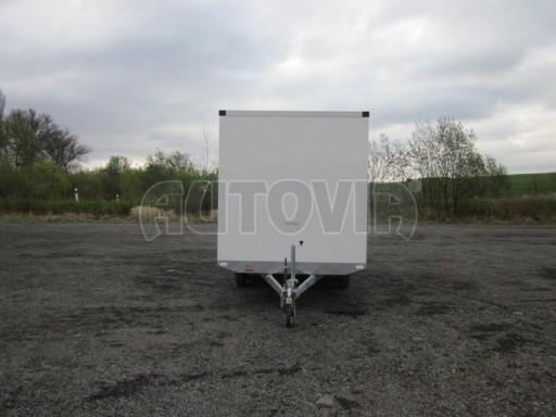 Skříňový přívěs VA 2,7T 4,09x2,07/2,10 celohliníková prachotěsná č.2