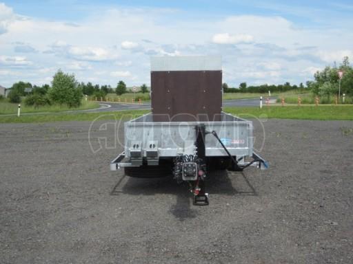Vzduchem brzděný přívěs AVG 10T 6,30x1,80/0,40 č.3