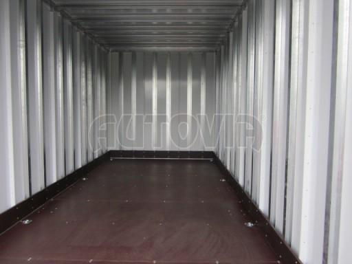 Celohliníková značková prachotěsná stříbrná skříň VA 2,7T 5,10x2,05/2,10 č.9