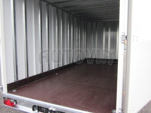 Celohliníková značková prachotěsná stříbrná skříň VA 2,7T 5,10x2,05/2,10 č.11