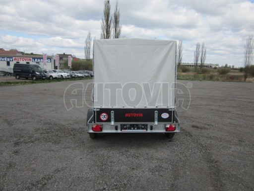 Valník s plachtou ZV 27 750kg N2 2,50x1,48/1,53 POČ č.5