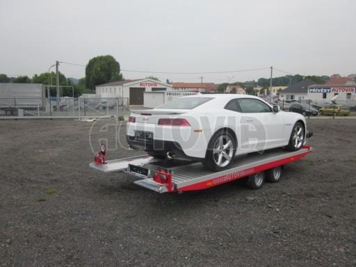 Přívěs pro přepravu sportovních automobilů IM 2,7T 5,01x2,09 dvouč. č.2