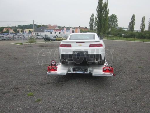Přívěs pro přepravu sportovních automobilů IM 2,7T 5,01x2,09 dvouč. č.3