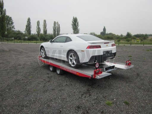Přívěs pro přepravu sportovních automobilů IM 2,7T 5,01x2,09 dvouč. č.4
