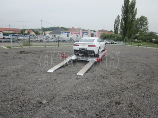 Přívěs pro přepravu sportovních automobilů IM 2,7T 5,01x2,09 dvouč. č.6