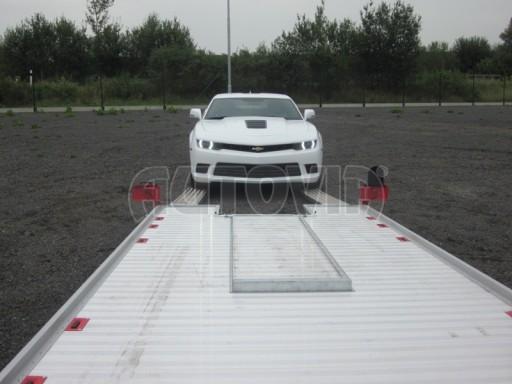 Přívěs pro přepravu sportovních automobilů IM 2,7T 5,01x2,09 dvouč. č.8