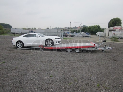 Přívěs pro přepravu sportovních automobilů IM 2,7T 5,01x2,09 dvouč. č.9