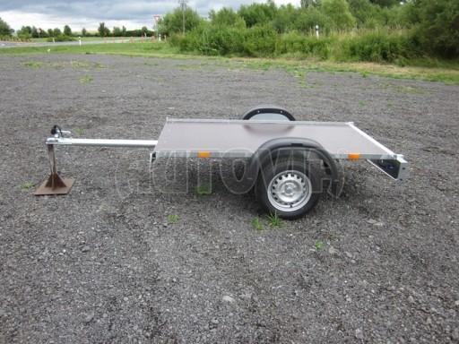 Přívěsný vozík za osobní auto VAD plato 2,06x1,12 č.1