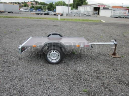 Přívěsný vozík za osobní auto VAD plato 2,06x1,12 č.5