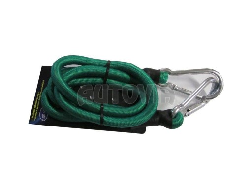 Gumové lano bungee 1m s karabinou 10mm č.1