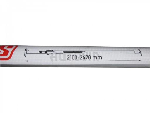 Vertikální rozpěrná tyč 2100 - 2470 mm č.3