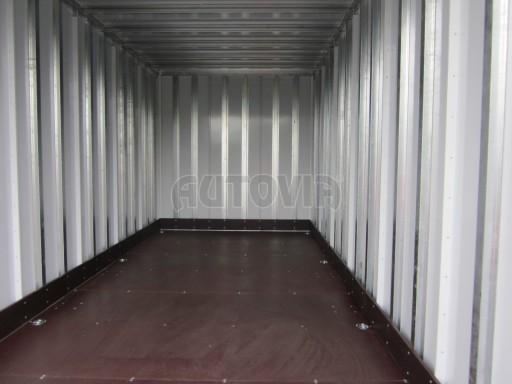 Skříňový přívěs VA 2,7T 4,09x2,07/2,10 celohliníková prachotěsná č.8