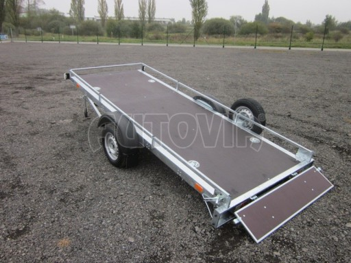 Sklopný přívěsný vozík ZV 30 750kg N1 atyp 3,50x1,32** č.1