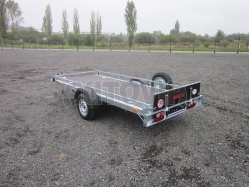 Sklopný přívěsný vozík ZV 30 750kg N1 atyp 3,50x1,32** č.4