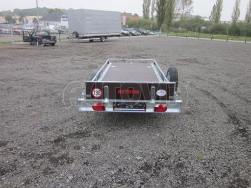 Sklopný přívěsný vozík ZV 30 750kg N1 atyp 3,50x1,32** č.5