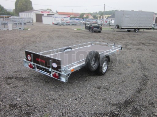 Sklopný přívěsný vozík ZV 30 750kg N1 atyp 3,50x1,32** č.6