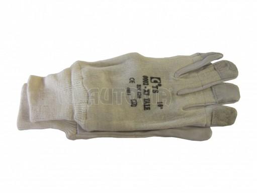 Pracovní rukavice bílé č.1