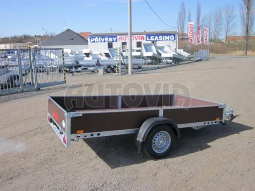 Přívěs za osobní auto PV 750kg N1 3,03x1,53/0,30 zes. náprava č.5