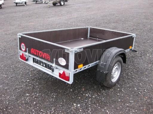 Přívěsný vozík za osobní auto PV 750kg N1 2,1x1,28/0,30 č.2