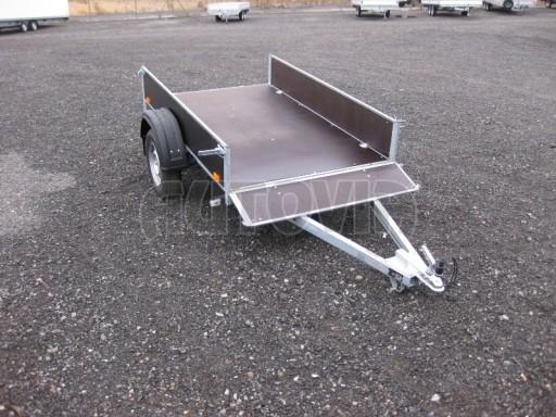 Přívěsný vozík za osobní auto PV 750kg N1 2,1x1,28/0,30 č.1