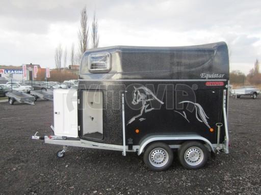 Přívěs na koně celolaminátový Lodestar Premium black 2,0T NEW č.4