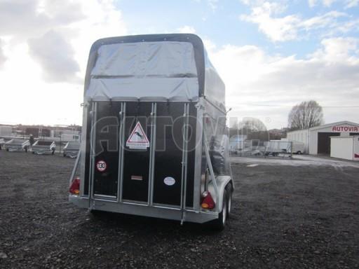 Přívěs na koně celolaminátový Lodestar Premium black 2,0T NEW č.5