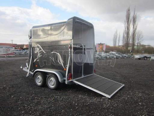 Přívěs na koně celolaminátový Lodestar Premium black 2,0T NEW č.7