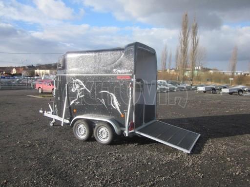 Přívěs na koně celolaminátový Lodestar Premium black 2,0T NEW č.8