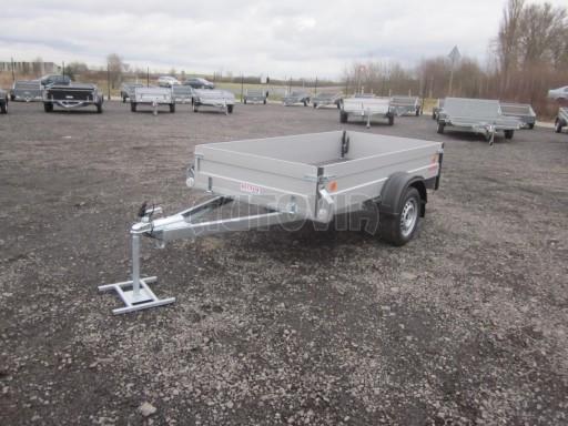 Hliníkový přívěsný vozík za osobní auto ZV 26 ALU N1 2,50x1,25/0,35 POČ ZN** č.3
