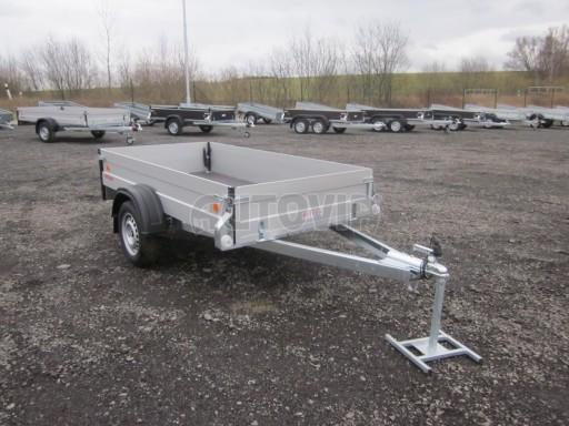 Hliníkový přívěsný vozík za osobní auto ZV 26 ALU N1 2,50x1,25/0,35 POČ ZN** č.4