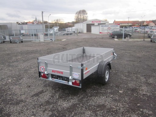 Hliníkový přívěsný vozík za osobní auto ZV 26 ALU N1 2,50x1,25/0,35 POČ ZN** č.5