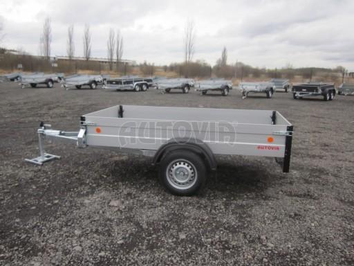 Hliníkový přívěsný vozík za osobní auto ZV 26 ALU N1 2,50x1,25/0,35 POČ ZN** č.6