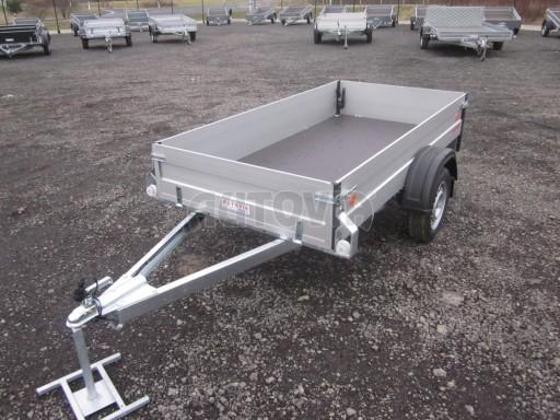 Hliníkový přívěsný vozík za osobní auto ZV 26 ALU N1 2,50x1,25/0,35 POČ ZN** č.7