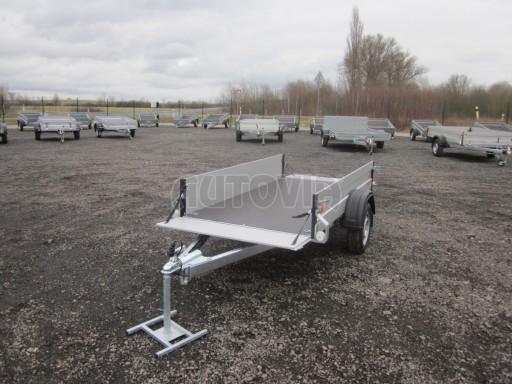 Hliníkový přívěsný vozík za osobní auto ZV 26 ALU N1 2,50x1,25/0,35 POČ ZN** č.1
