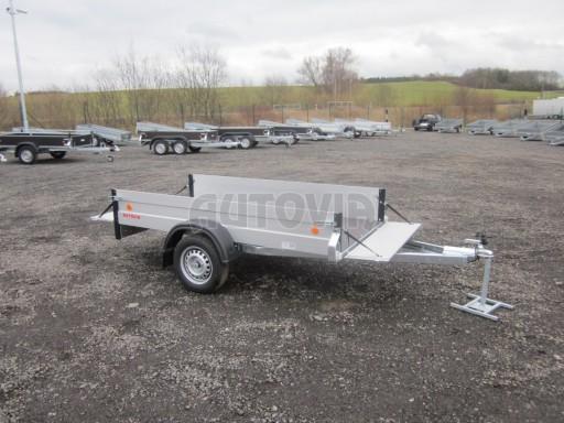 Hliníkový přívěsný vozík za osobní auto ZV 26 ALU N1 2,50x1,25/0,35 POČ ZN** č.8