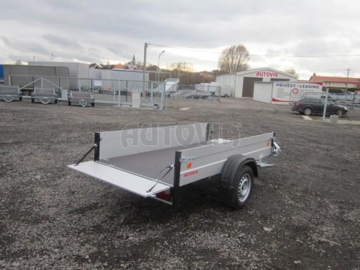 Hliníkový přívěsný vozík za osobní auto ZV 26 ALU N1 2,50x1,25/0,35 POČ ZN** č.9
