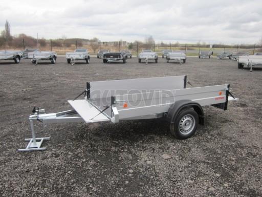 Hliníkový přívěsný vozík za osobní auto ZV 26 ALU N1 2,50x1,25/0,35 POČ ZN** č.2