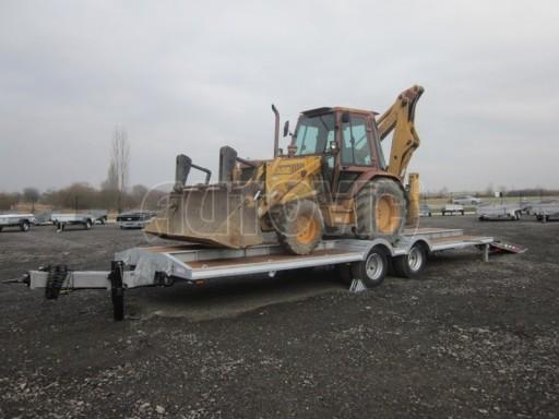 Vzduchem brzděné plato pro převoz traktorů AVG 18T 8,20x2,48 plato č.3