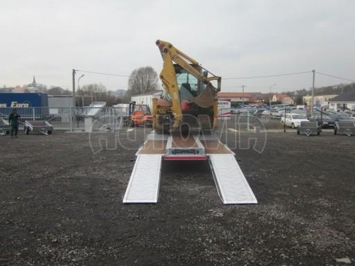 Vzduchem brzděné plato pro převoz traktorů AVG 18T 8,20x2,48 plato č.5